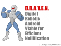 Digital Robotic Android Viable for Efficient Nullification