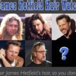 Hairstyles of James Hetfield