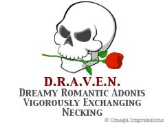 Dreamy Romantic Adonis Vigorously Exchanging Necking