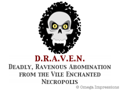 Deadly, Ravenous Abomination from the Vile Enchanted Necropolis