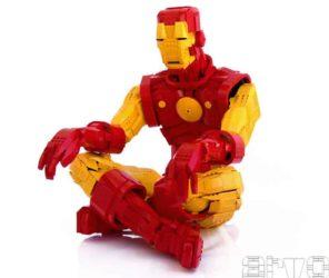 Iron Man aus Lego