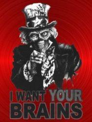 Jeg vil have jeres hjerner