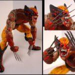 Blutige Wolverine Figur