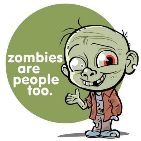 Zombiler çok kişi vardır