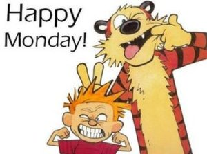 Calvin and Hobbes - Monday