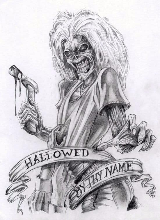 heavy metal band coloring pages - photo#43