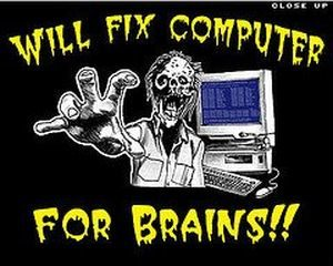Will fix computer for brains