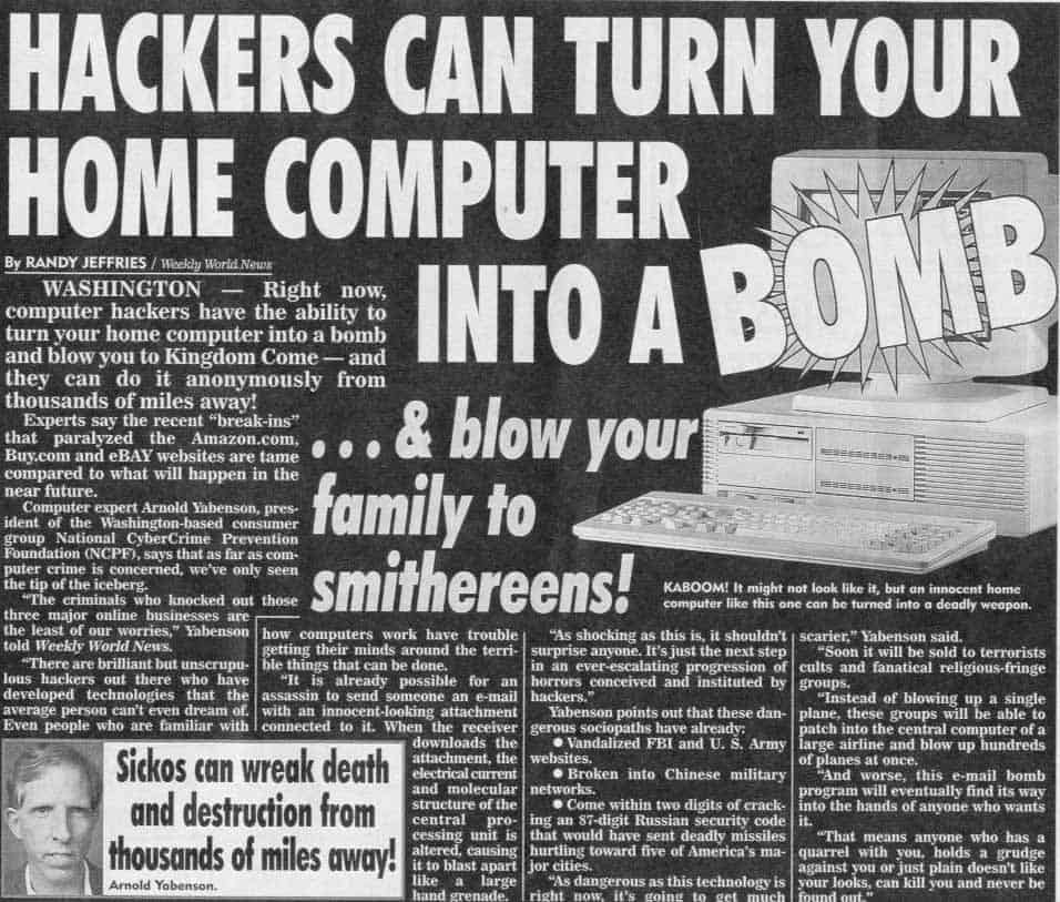 Hackers can turn your home PC into a bomb