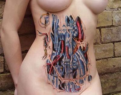 Horrible Tattoo - Mechanical