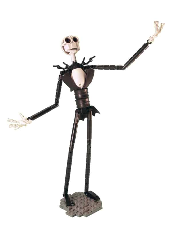 jack skellington in lego