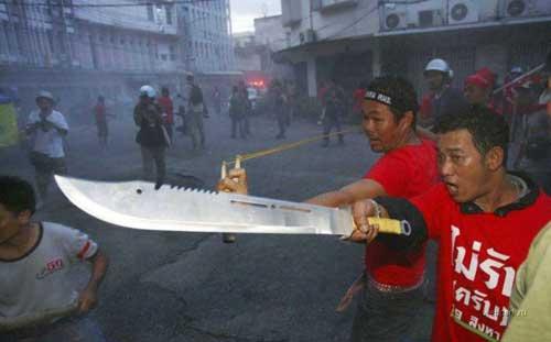 Das ist ein Messer!