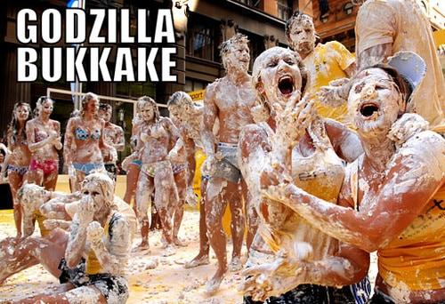 Godzilla Bukkake - Dravens Tales from the Crypt