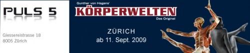 Körperwelten ab 11. September in Zürich