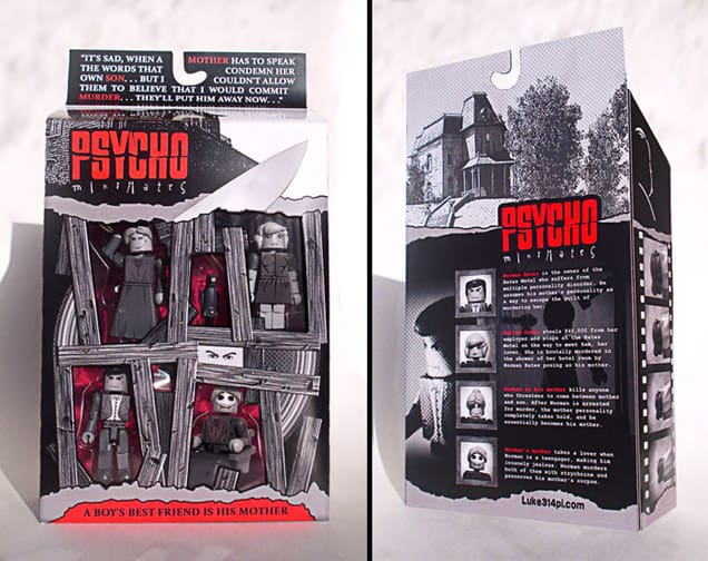 Psycho lego dravens tales from the crypt for Schaukelstuhl fredy