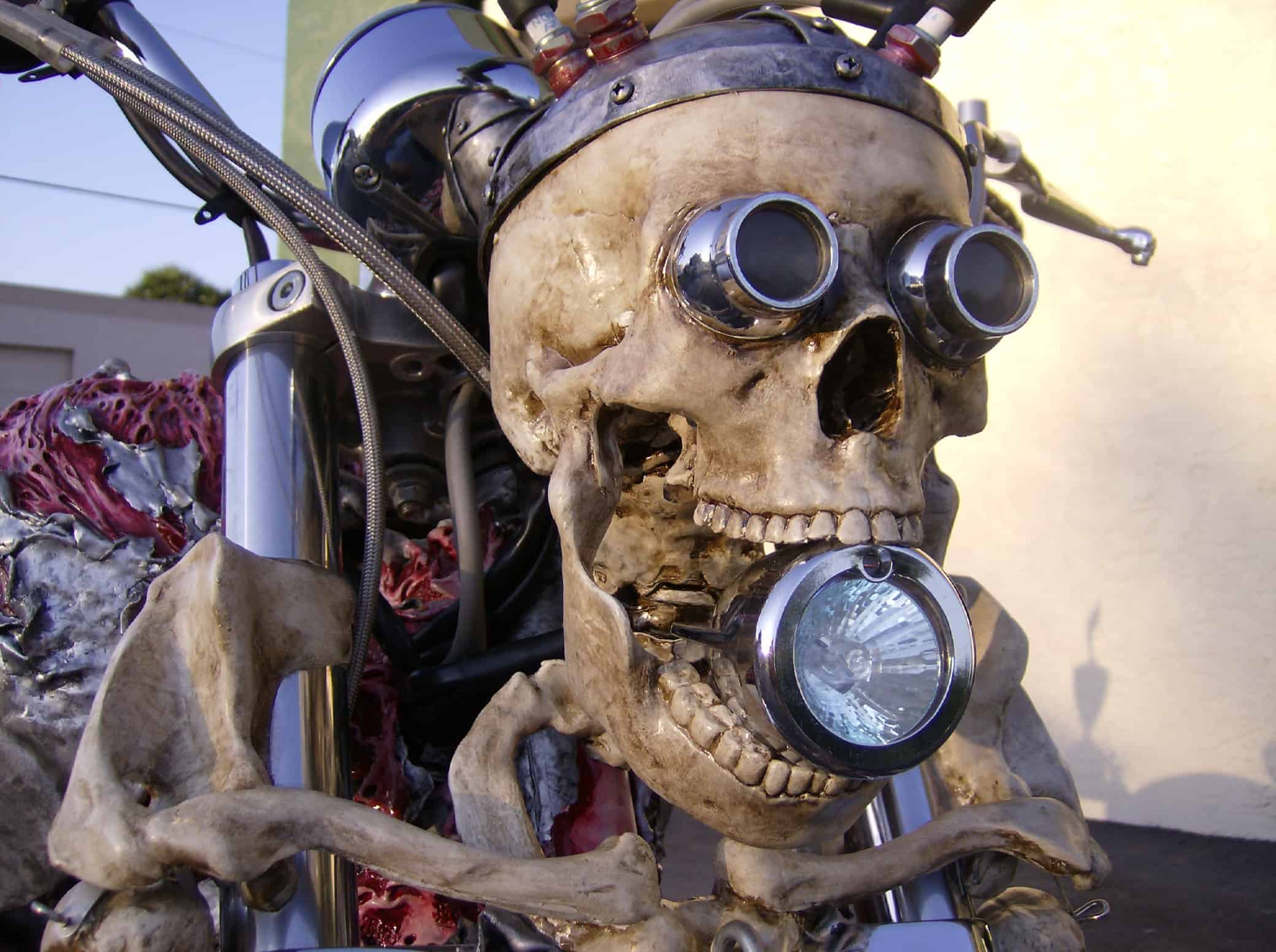 Honda Fury Review >> Skeleton Bike   Dravens Tales from the Crypt