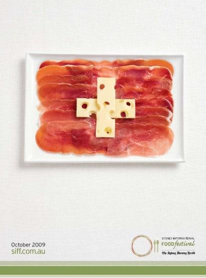 Food Flags Switzerland