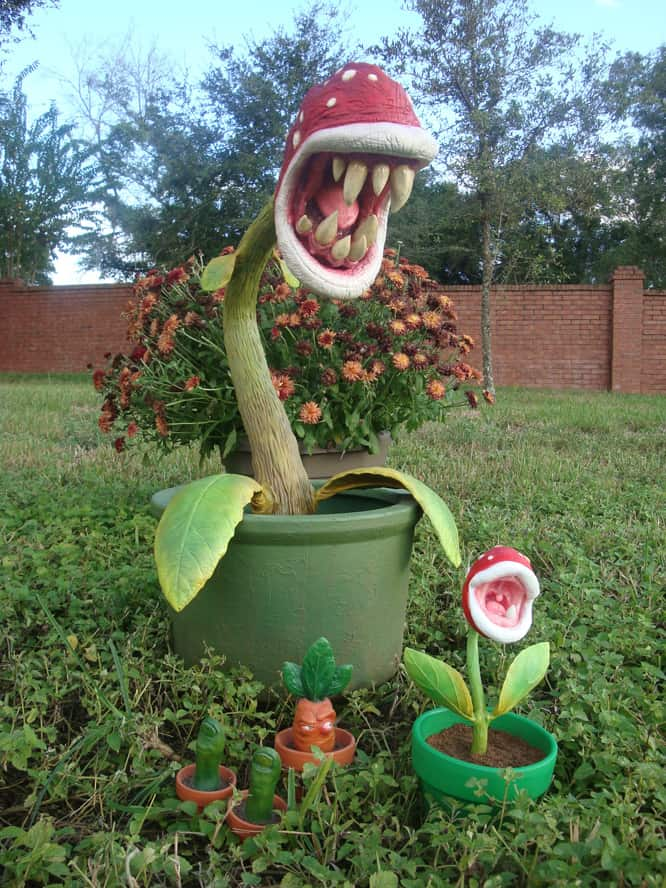 real life supermario piranha plant dravens tales from the crypt. Black Bedroom Furniture Sets. Home Design Ideas