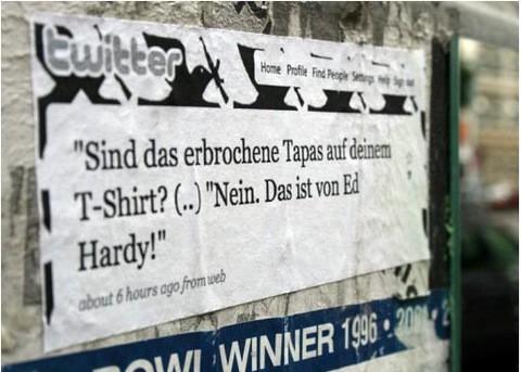 Soviel zu Ed Hardy