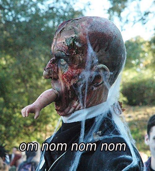 Om nom nom nom Zombie