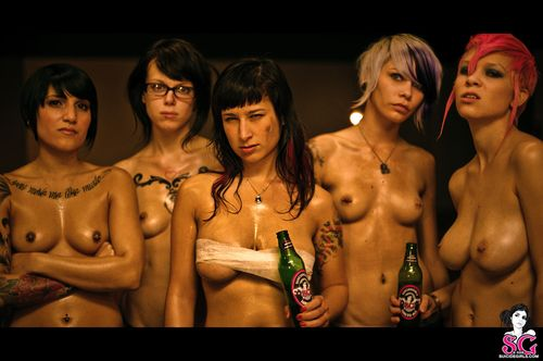 Suicide Girls: Fight Club