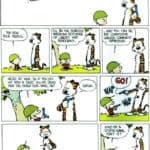 Calvin and Hobbes On War