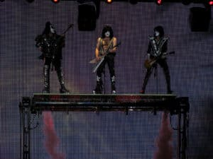 Zürich Rock City - Kiss auf Sonic Boom Over Europe Tour