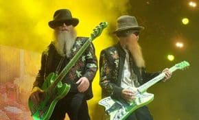 ZZ Top: Les hommes de Sharp Dressed à Locarno