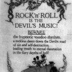 Rock'n'Roll is the Devil's Music!