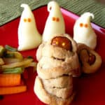 Halloween Dinner Time – Mummy Dogs and Mashed Potatoes spirits