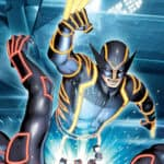 Tron: Marvel Super Heroes in de wereld Neon
