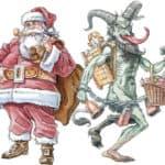 Day 6: Heute kommt der Nikolaus mit seinem treuen Begleiter – Advent Calendar from the Crypt