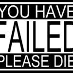 Misslyckades!