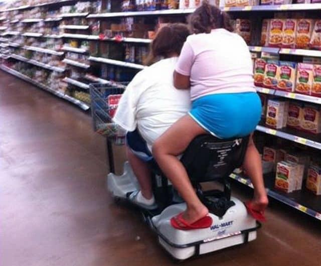 Neulich beim Einkaufen
