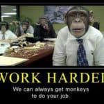 Hardere het werk!