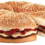 Pizza Burger fra Burger King Japan