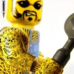 Tätowierte Lego Männchen