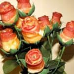 Bacon Rose Bouquet – Speck Rosen Strauss