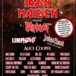 Sonisphere Switzerland Running Order