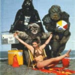 Star Wars at the beach