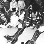 Gene Simmons nel giorno del compleanno del bambino