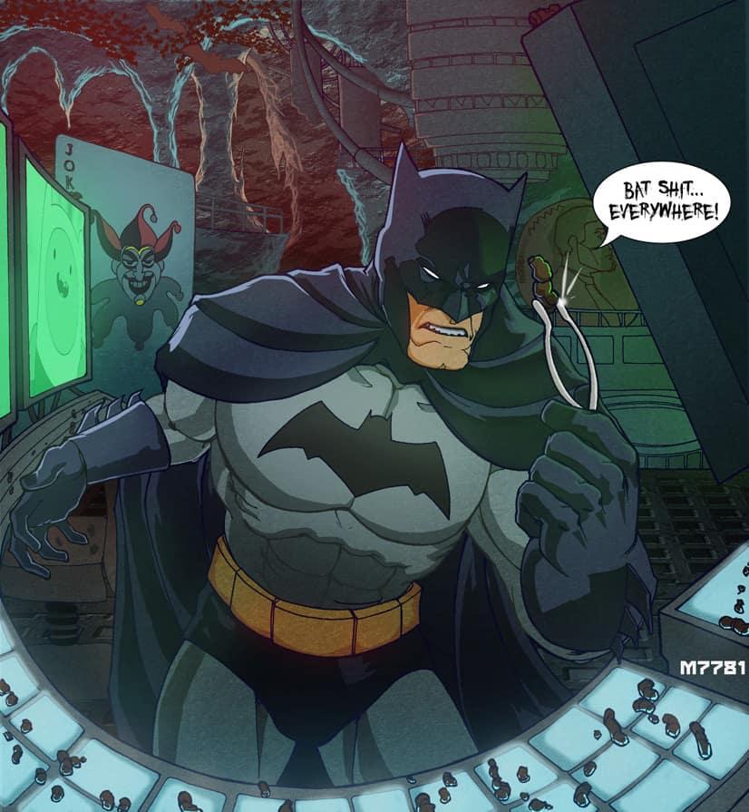 Batman utover porno tegneserier