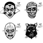 Monster Masks selv pillet