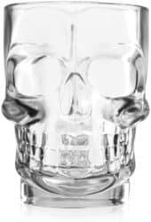 Schädel Bier Glas