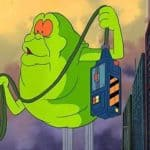Slimer e Real Ghostbusters