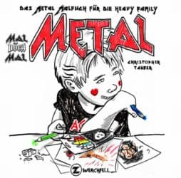 Day 19: The Metal Coloring Book for Heavy Family - Advent Calendar from the Crypt
