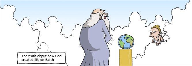 Wie Gott Die Welt Erschuf