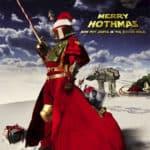 Merry Hothmas from Santa Fett