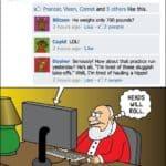 Día 20: Wenn Santa bei Facebook wäre – Calendario del advenimiento de la cripta