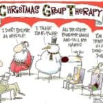 Day 15: Christmas Group Therapy – Advent Calendar from the Crypt