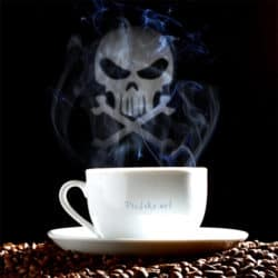 Please gentlemen! The coffee is served from the Crypt!
